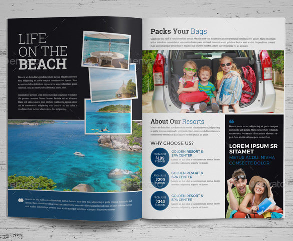 travel brochure examples for students luxury reference sheet